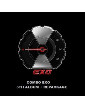 COMBO EXO ALBUM VOL 5 ( Don't Mess UP My Tempo +Love Shot)
