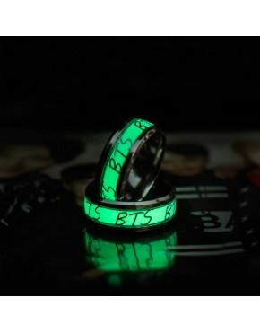 Anel BTS Fluorescente