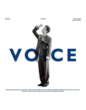 SHINee : ONEW - Mini Album Vol.1 [VOICE] CD