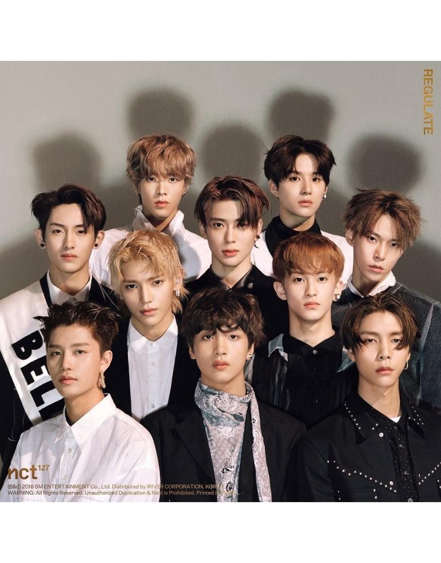 NCT 127 - Repackage Album Vol.1 [NCT #127 Regulate] CD popup
