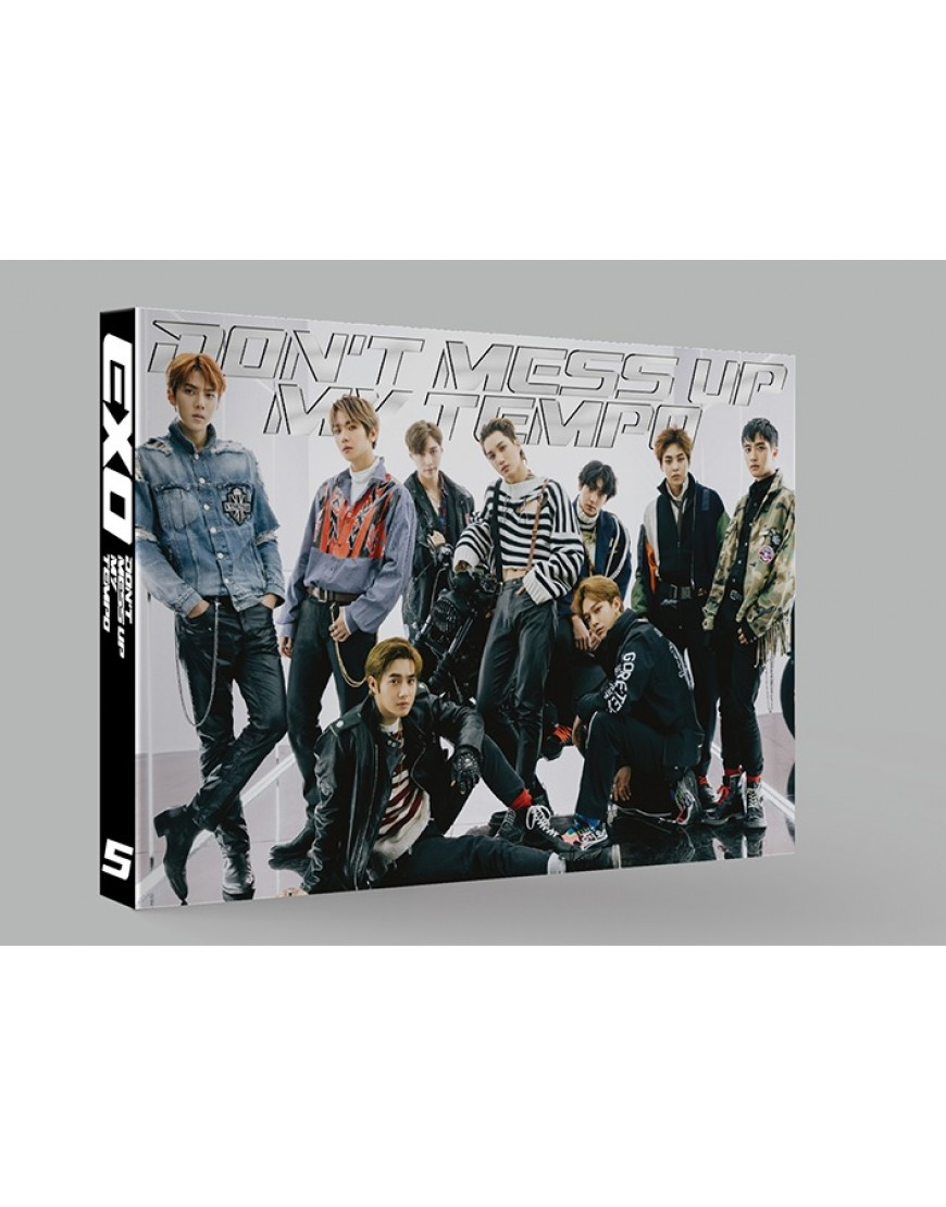 EXO - Album Vol.5 [DON'T MESS UP MY TEMPO] (Vivace Ver.) (Limited Edition)  popup