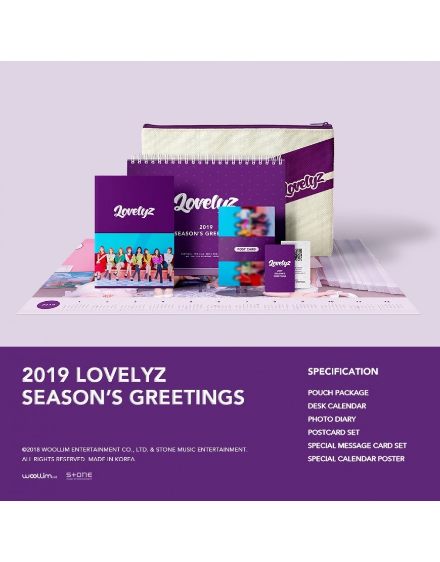 Lovelyz - 2019 SEASON'S GREETINGS popup