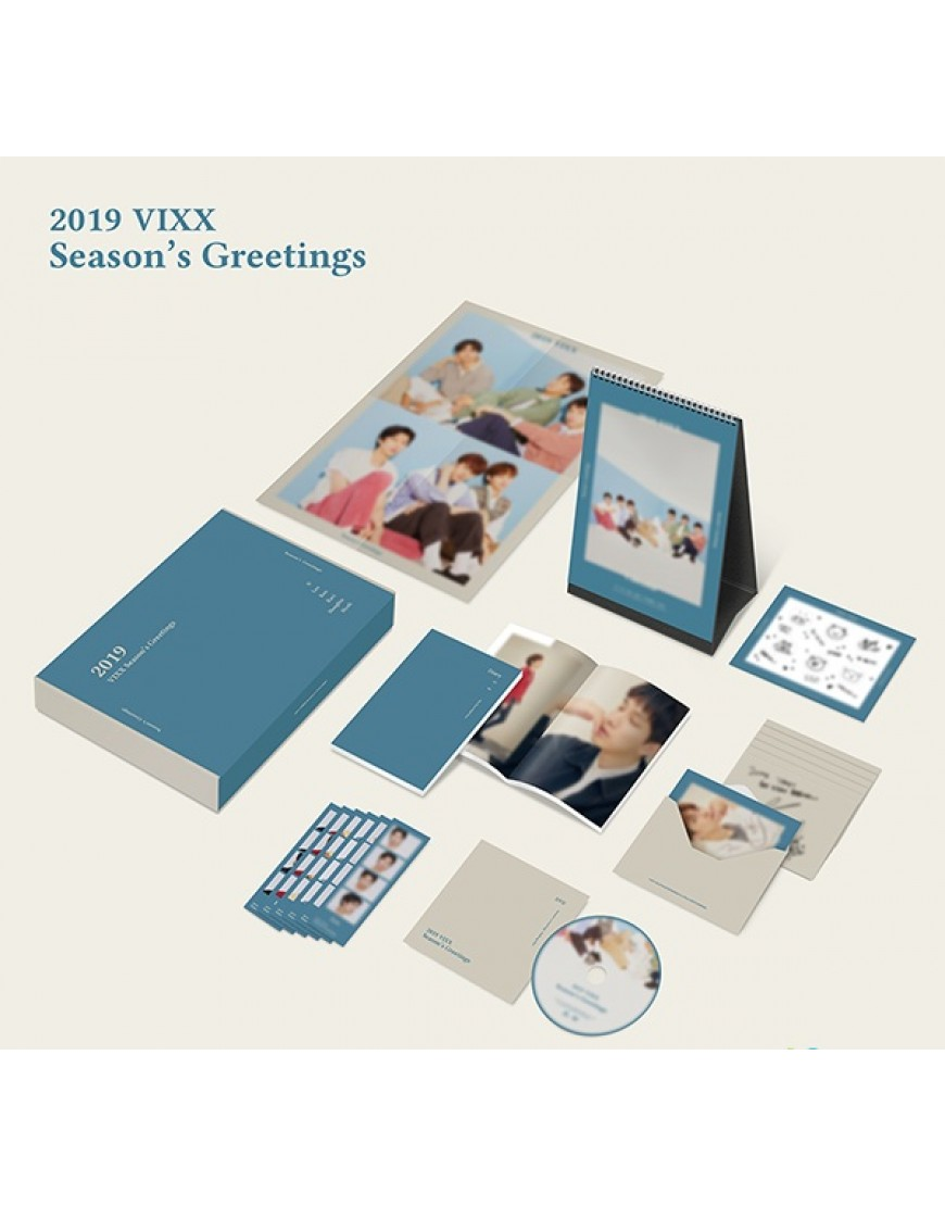 VIXX - 2019 SEASON'S GREETING popup