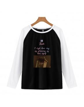 Camiseta Raglan Longa BTS Tear