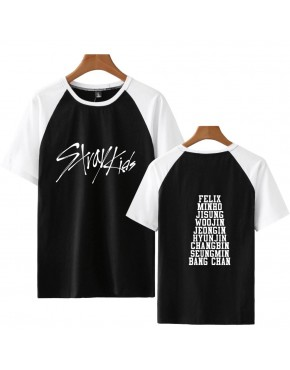 Camiseta Raglan Stray Kids