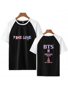 Camiseta Raglan BTS