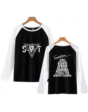 Camiseta Raglan Longa Seventeen