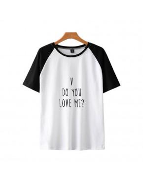 Camiseta Raglan BTS Membros