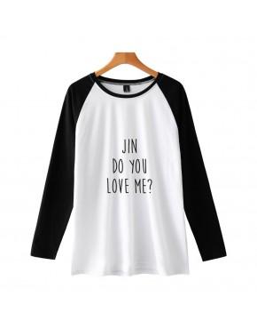 Camiseta Raglan Longa BTS Membros