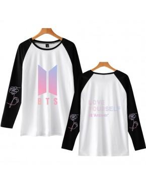 Camiseta Raglan Longa BTS