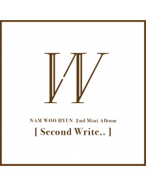 Infinite : Nam Woo Hyun - Mini Album Vol.2 [Second Write..]
