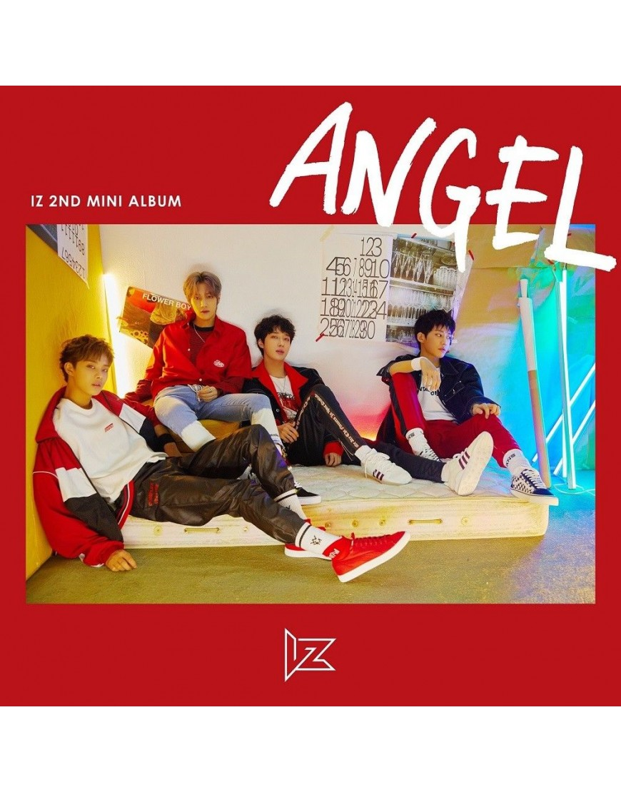 IZ - Mini Album Vol.2 [ANGEL] CD popup
