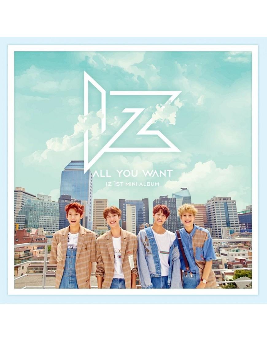 IZ - Mini Album Vol.1 [ALL YOU WANT] CD popup