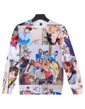 Blusa BTS 3D Estampada