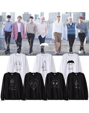 Blusa BTS Desenho Membros