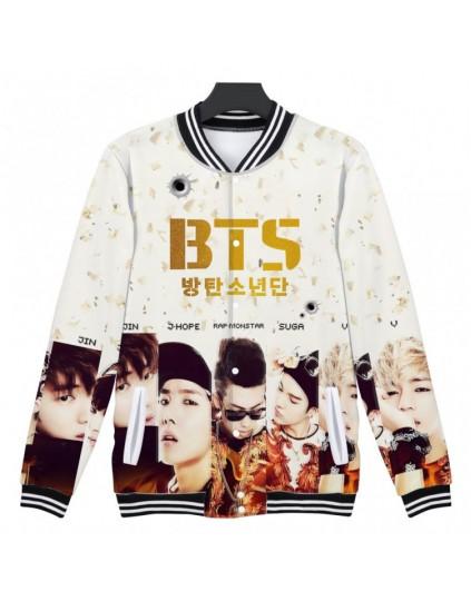 Jaqueta BTS Estampada