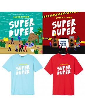 Camiseta Super Junior Super Duper