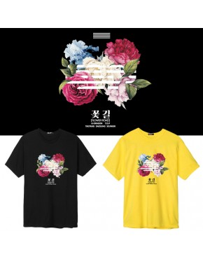 Camiseta Big Bang Flower Road