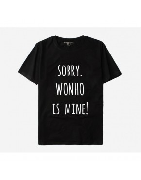 Camiseta Monsta X Sorry is Mine Membros