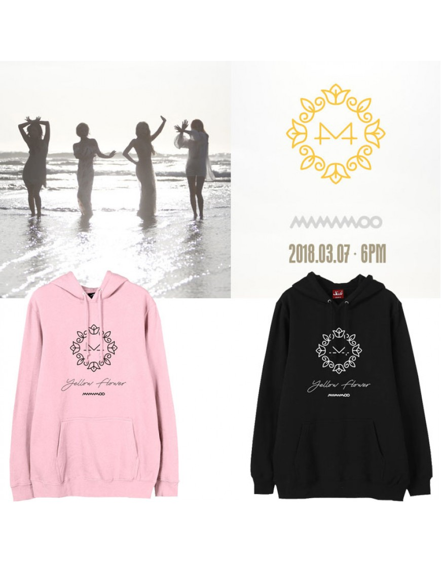 Moletom Mamamoo Yellow Flower  popup