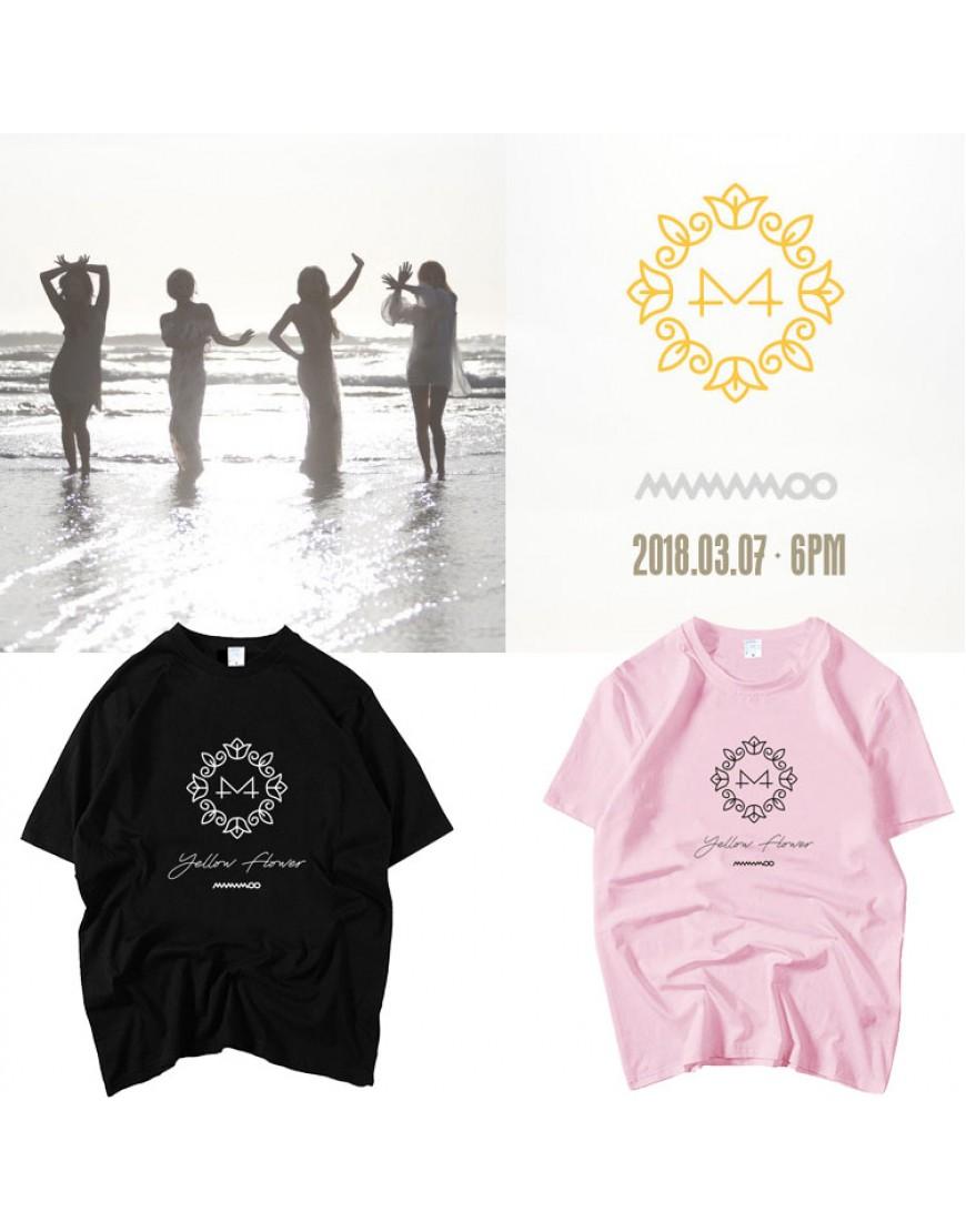 Camiseta Mamamoo Yellow Flower popup