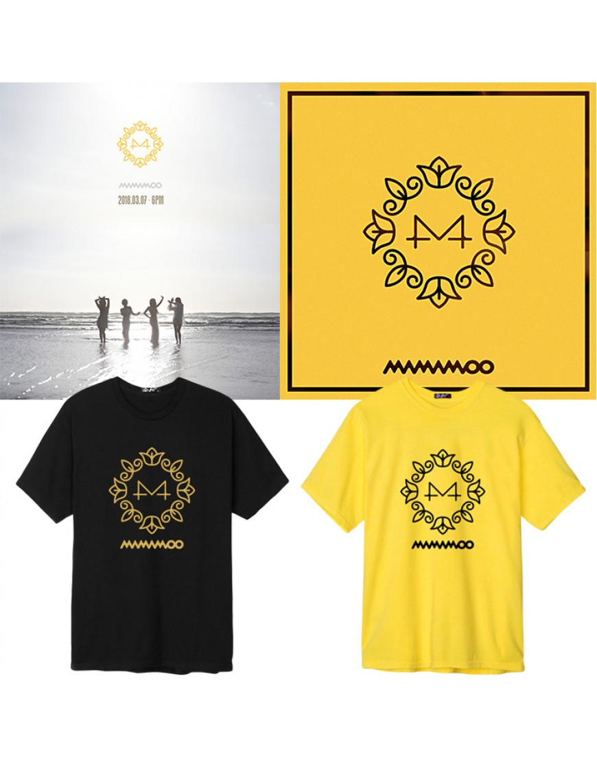 Camiseta Mamamoo Yellow Flower  popup