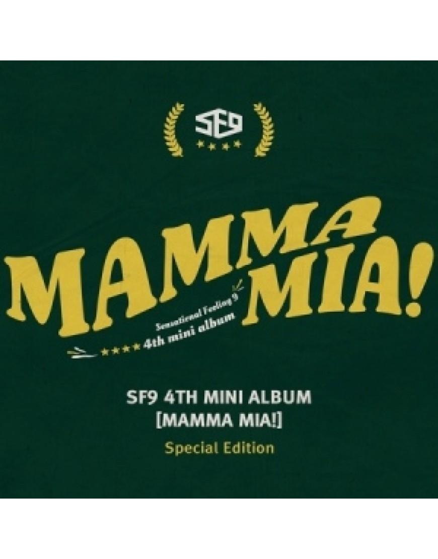 SF9 - Mini Album Vol.4 [MAMMA MIA!] (Special Edition) popup
