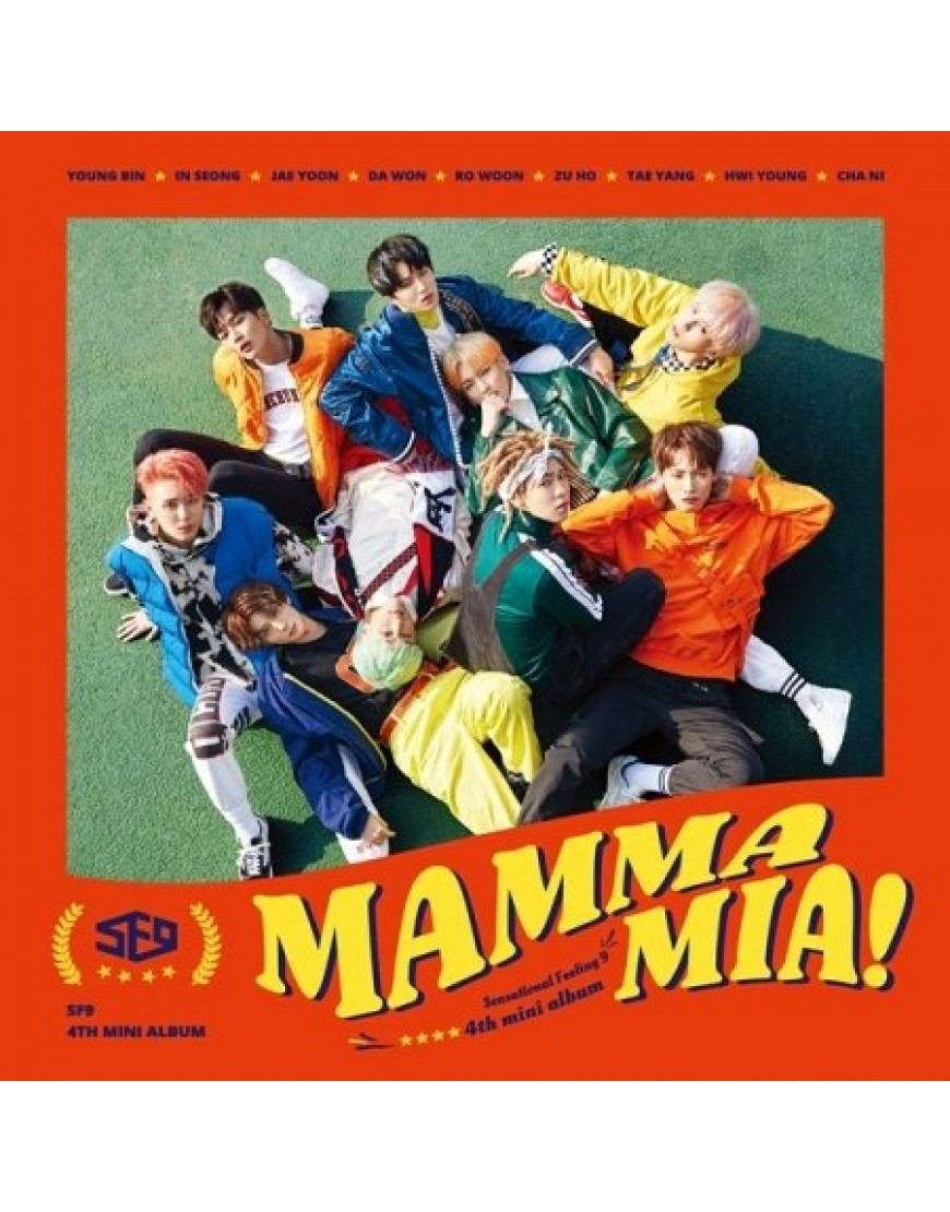 SF9 - Mini Album Vol.4 [MAMMA MIA!] popup