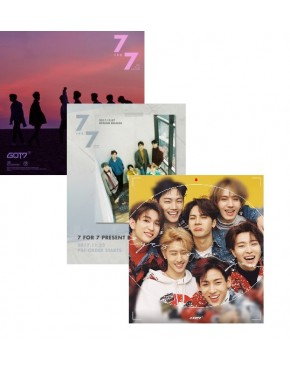 COMBO GOT7 (7 FOR 7/ PRESENT EDITION/ EYES ON YOU)