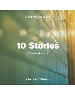 Kim Sung Kyu -Infinite - Album Vol.1 [10 Stories] Normal Edition (Normal Version)