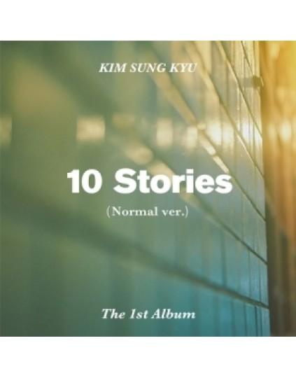 Kim Sung Kyu -Infinite - Album Vol.1 [10 Stories] Normal Edition (Normal Version)