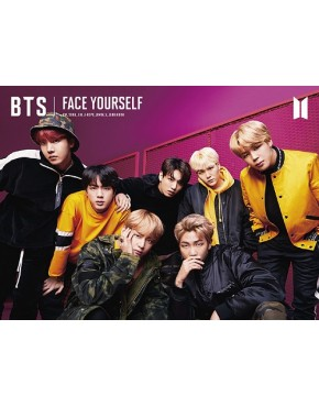 BTS- FACE YOURSELF [DVD, Limited Edition Type B]