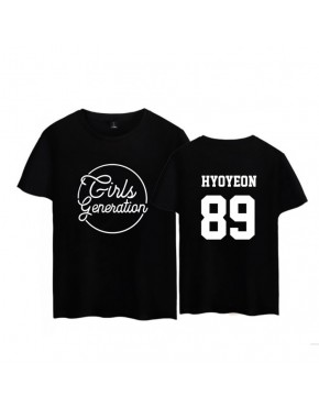 Camiseta Girls' Generation Membros