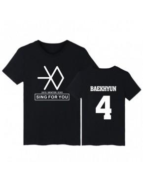 Camiseta EXO Sing For You Membros