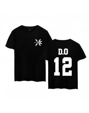 Camiseta EXO The WAR Membros