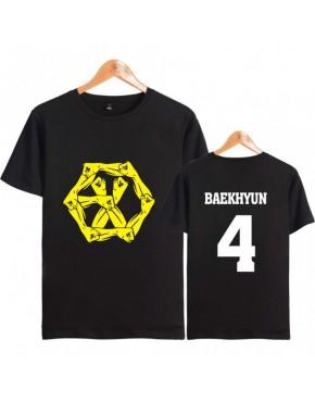 Camiseta EXO Membros The WAR:  The Power of Music