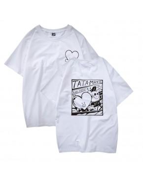 Camiseta BTS V BT21 TATA MANG AND SHOOKY