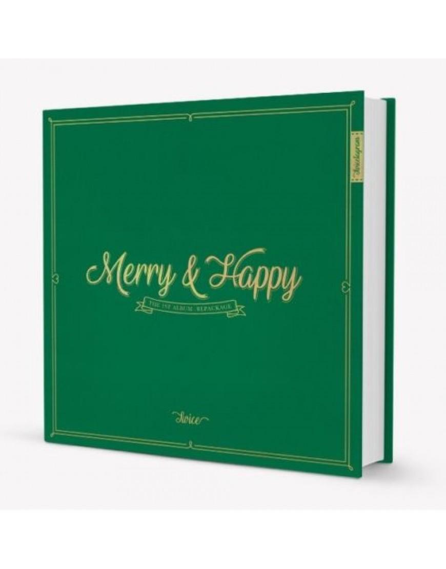 TWICE - Repackage Album Vol.1 [Merry & Happy] (Merry Ver.) popup