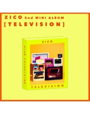 BLOCK B ZICO - 2ND MINI ALBUM TELEVISION CD