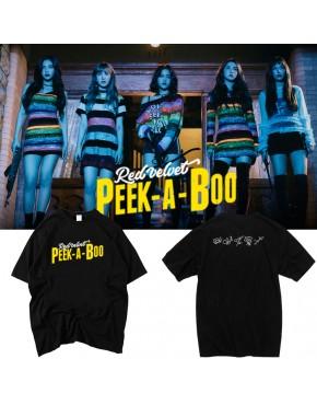 Camiseta Red Velvet Perfect Velvet Peek-a-Boo