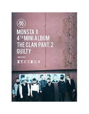 MONSTA X - MINI ALBUM VOL.4 [THE CLAN 2.5 PART.2 GUILTY] GUILTY VERSION