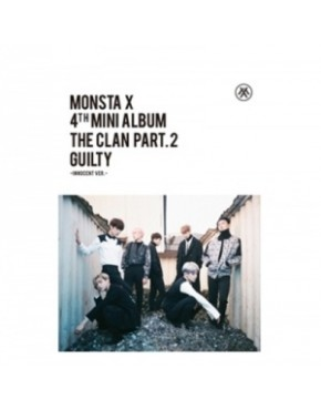 MONSTA X - Mini Album Vol.4 [THE CLAN 2.5 PART.2 GUILTY] INNOCENT Version
