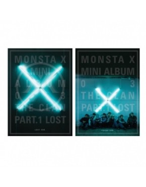 MONSTA X - MINI ALBUM VOL.3 [THE CLAN 2.5 PART.1 LOST] FOUND + LOST VERSION