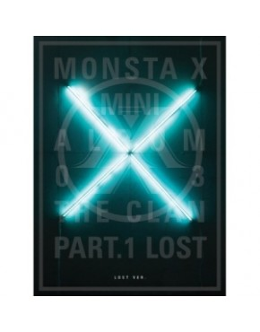 MONSTA X - Mini Album Vol.3 [THE CLAN 2.5 PART.1 LOST] Lost Version