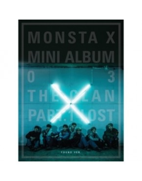 MONSTA X - MINI ALBUM VOL.3 [THE CLAN 2.5 PART.1 LOST] FOUND VERSION