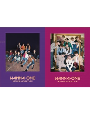 Combo WANNA ONE - To Be One Prequel Repackage Album [1-1=0(NOTHING WITHOUT YOU)] (Wanna + One Version)