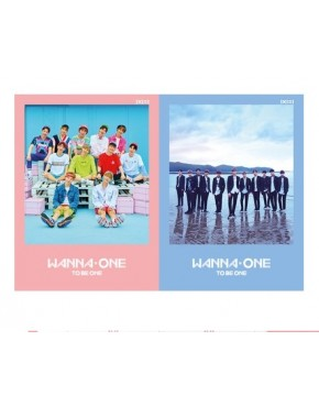 Combo WANNA ONE - Mini Album Vol.1 [1x1=1(TO BE ONE)] (Sky + Pink Version)