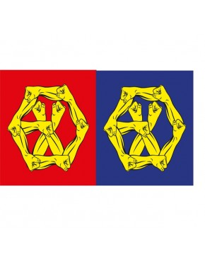 Combo EXO - Album Vol.4 Repackage [THE WAR: The Power of Music] (Chinese + Korean Version)
