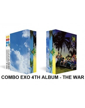 Combo EXO - Album Vol.4 [THE WAR] Korean + Chinese Version (2CDS)