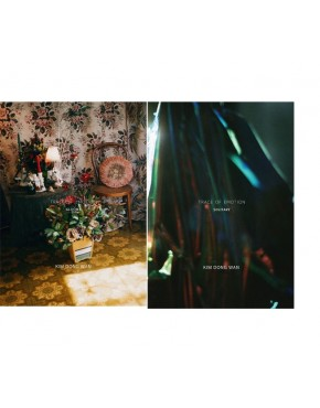 Combo SHINHWA : KIM DONG WAN - Mini Album [TRACE OF EMOTION] (SOLITARY + GLOOMY VERSION)